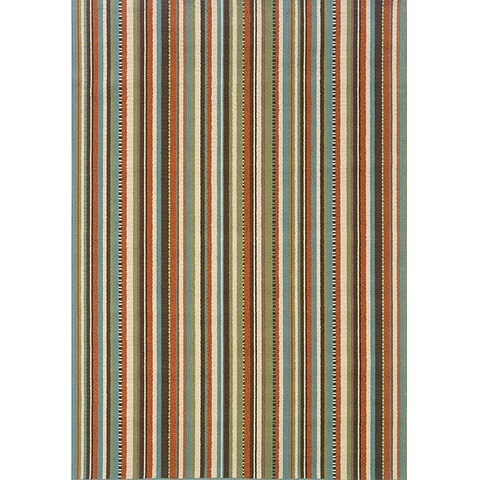 "Copper Grove Mount Hood Striped Area Rug - 7'10"" x 10'10"""