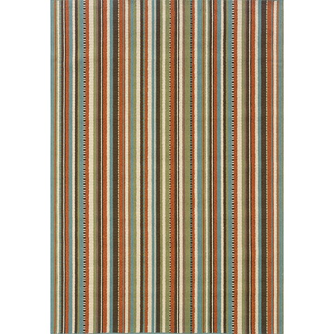 "Copper Grove Mount Hood Striped Area Rug - 5'3"" x 7'6"""
