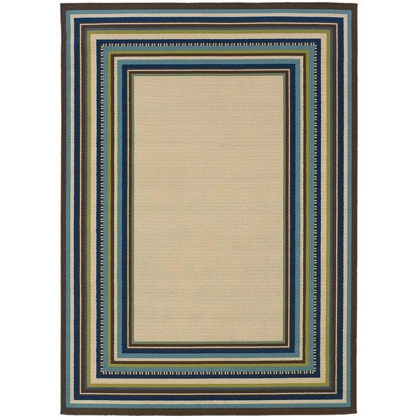 Laurel Creek Nellie Border Area Rug 3 X27 10