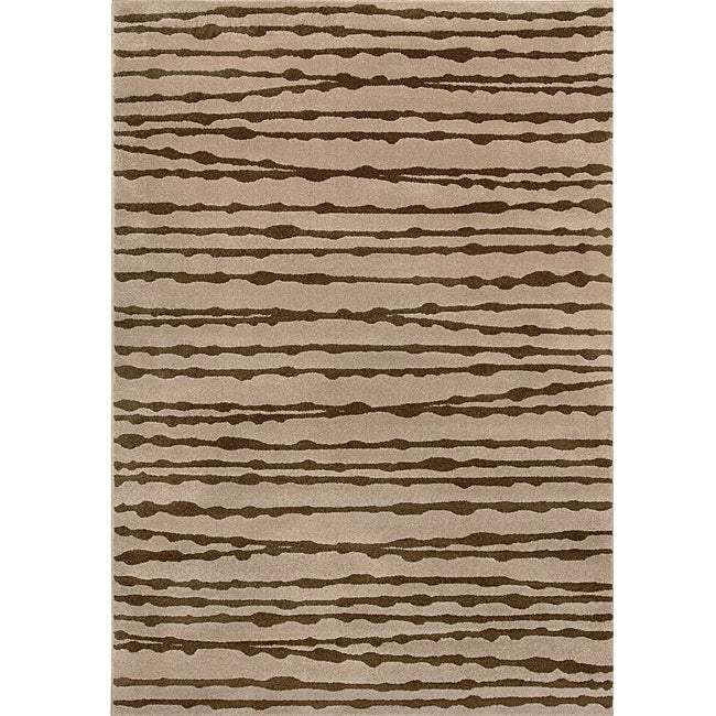 Shop Miramar Grey And Brown Area Rug 5 3 X 7 6 Free