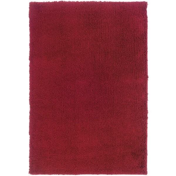 "Manhattan Red Area Rug (5'3 x 7'9) - 5'3"" x 7'9"""