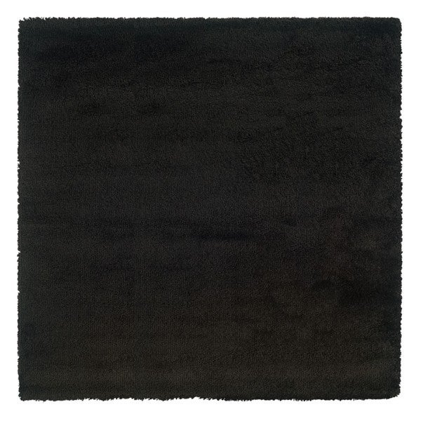 Manhattan Black Area Rug (8' Square)