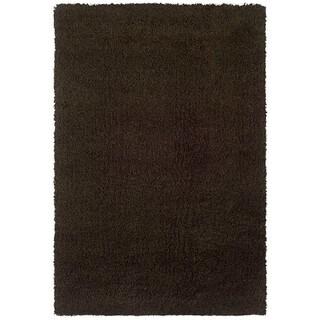 Manhattan Brown Area Rug (5'3 x 7'9)
