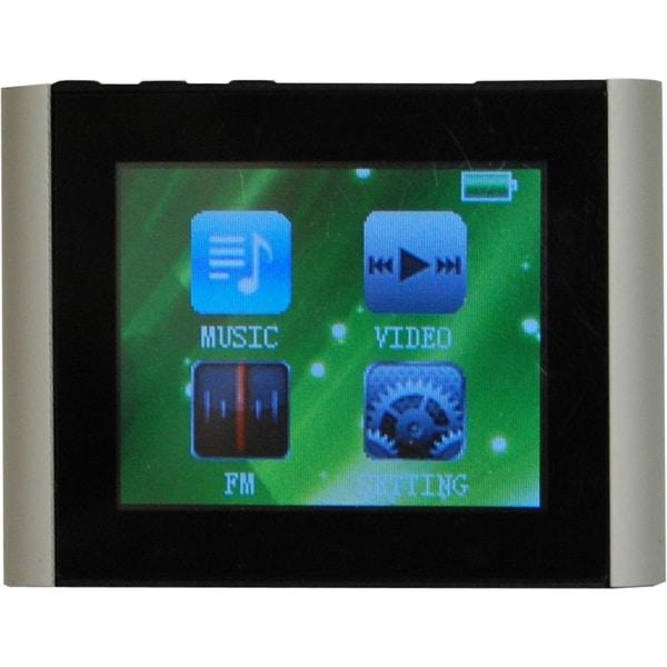 Mach Speed Eclipse T180 4 GB Silver Flash Portable Media Player