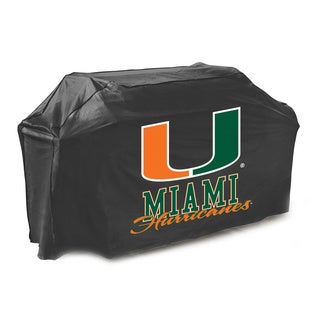 Miami Hurricanes 65-inch Gas Grill Cover