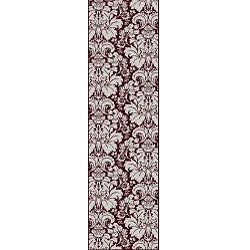 Admire Home Living Brilliance Damask Area Runner Rug (2'2 x 7'7)
