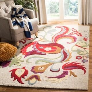 Safavieh Handmade Blossom Alfreda Modern Floral Wool Rug