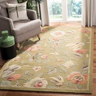 Safavieh Handmade Blossom Avie Modern Floral Wool Rug
