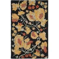 Safavieh Handmade Blossom Rust Wool Rug - 8' x 10'