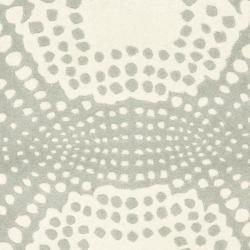 Safavieh Handmade New Zealand Wool Infinity Blue Rug (2'6 x 8') - Thumbnail 2
