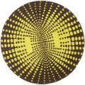 Safavieh Handmade New Zealand Wool Infinity Brown Rug (6' Round) - 6' Round
