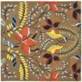 Safavieh Handmade New Zealand Wool Mirage Brown Rug - 6' x 6' Square