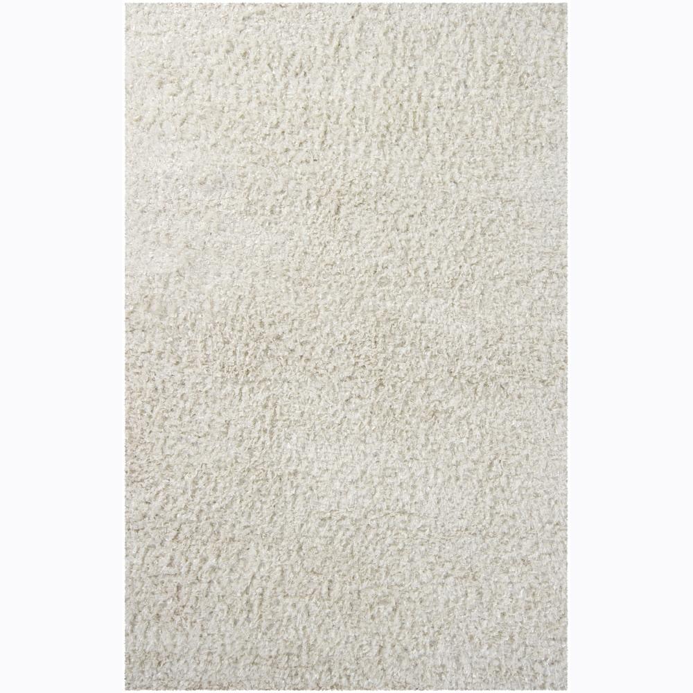 Artist's Loom Hand-woven Shag Rug - 7'9 x 10'6