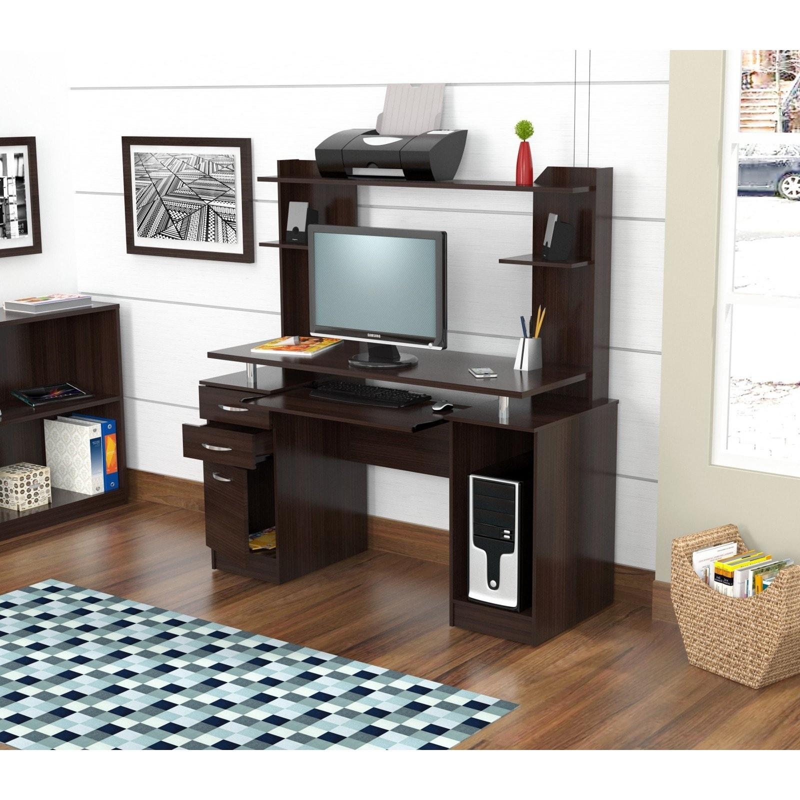 Shop Oliver Amp James Bagley Computer Desk And Hutch Free