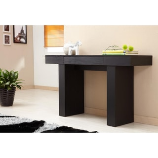 Furniture of America Perry Modern Black Finish Sofa Table Free