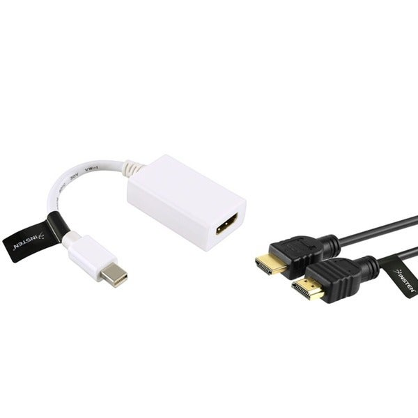 Insten Mini DisplayPort Adapter/ HDMI Cable for Apple MacBook