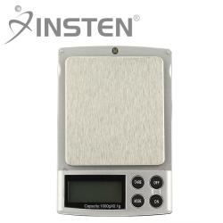 INSTEN Black Mini 2-pound Digital Pocket Gem and Jewelry Scale - Thumbnail 2