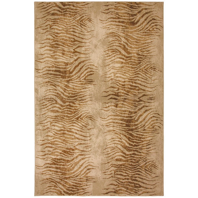 Serengeti Beige/ Tan Rug (8' x 11')