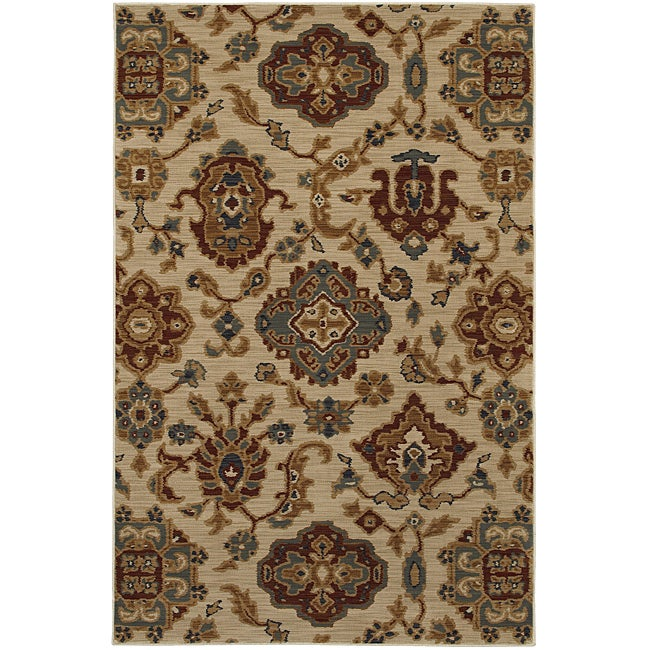 Royal Crest Beige Rug 8 X 11 Free Shipping Today