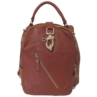 Amerileather 'Quince' Leather Backpack