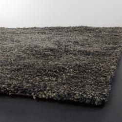 Artist's Loom Hand-woven Shag Rug (9' x 13') - Thumbnail 1