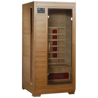Radiant Saunas 1 to 2-person Hemlock Infrared Sauna with 3 Ceramic Heaters