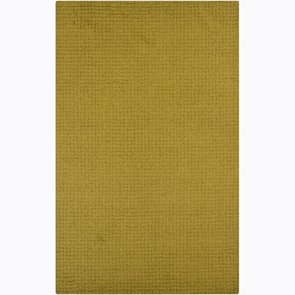 Artist's Loom Hand-tufted Contemporary Solid Wool Rug - 8' x 10'