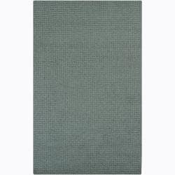 Artist's Loom Hand-tufted Contemporary Solid Wool Rug (8'x10') - Thumbnail 0