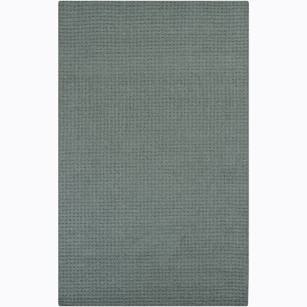 Hand-tufted Mandara Blue Rug (4' x 6')