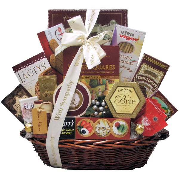 Great Arrivals With Deepest Sympathy Gift Basket