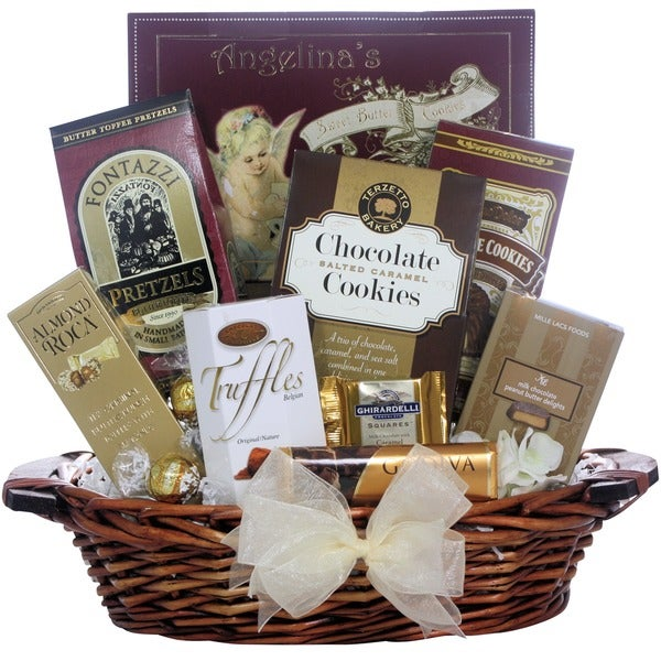 Great Arrivals Chocolate Delights Ghirardelli and Lindt Gift Basket