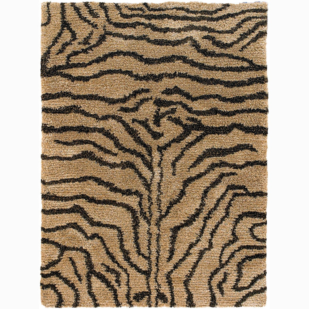 Artist's Loom Hand-woven Shag Rug (2'6 x 7'6) - 2'6 x 7'6