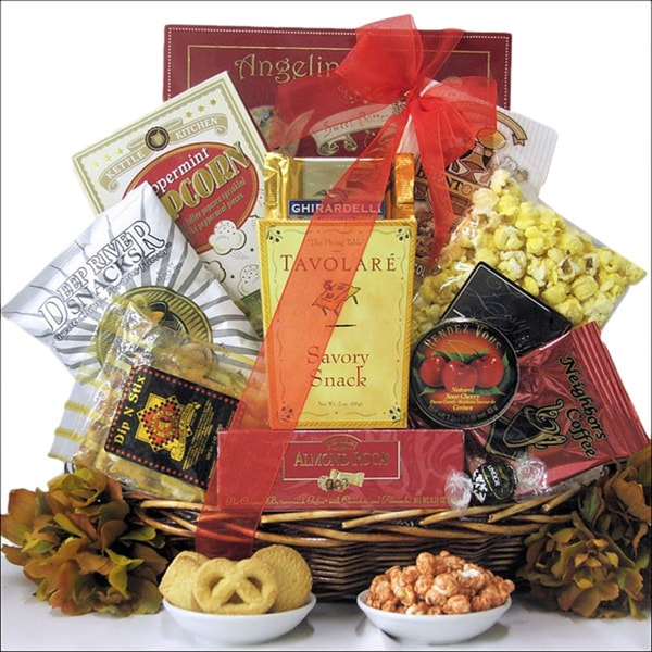 Great Arrivals Sweet & Savory Delights Gourmet Snack Gift Basket