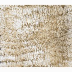 Handwoven Casual Mandara Shag Rug (7'9 x 10'6) - Thumbnail 2