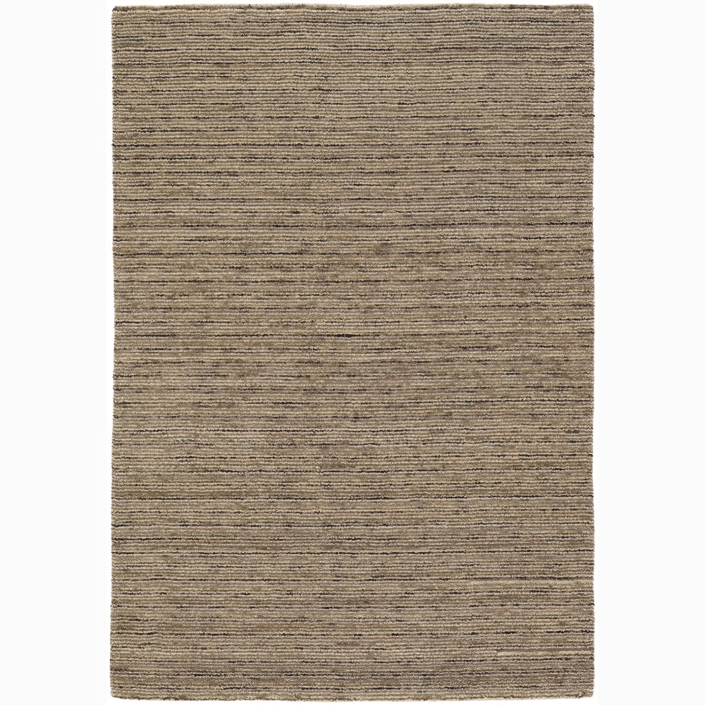 Artist's Loom Hand-woven Contemporary Stripes Wool Rug (7'9x10'6) - multi