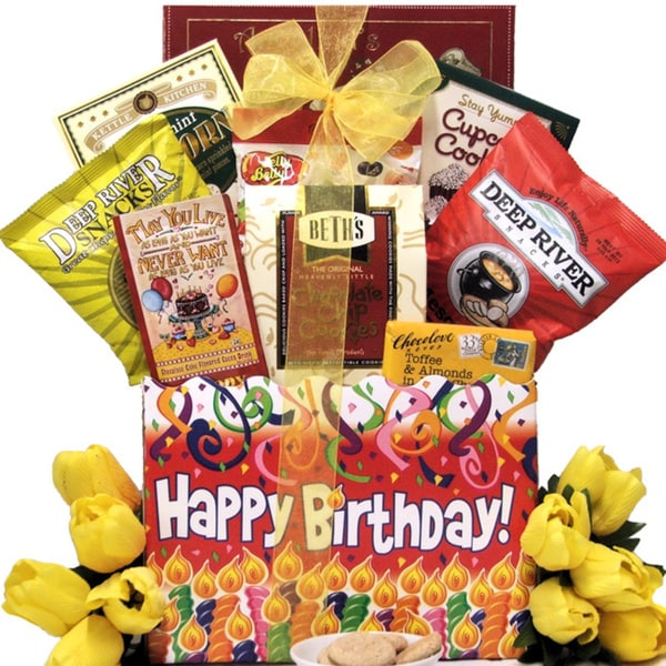 Shop Great Arrivals Happy Birthday Sweets Treats Gift Basket