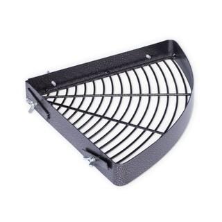 Prevue Pet Products Black-hammertone Metal Corner Bird Cage Shelf