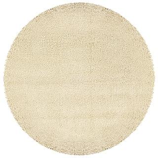 Manhattan Ivory Shag Rug (8' Round)
