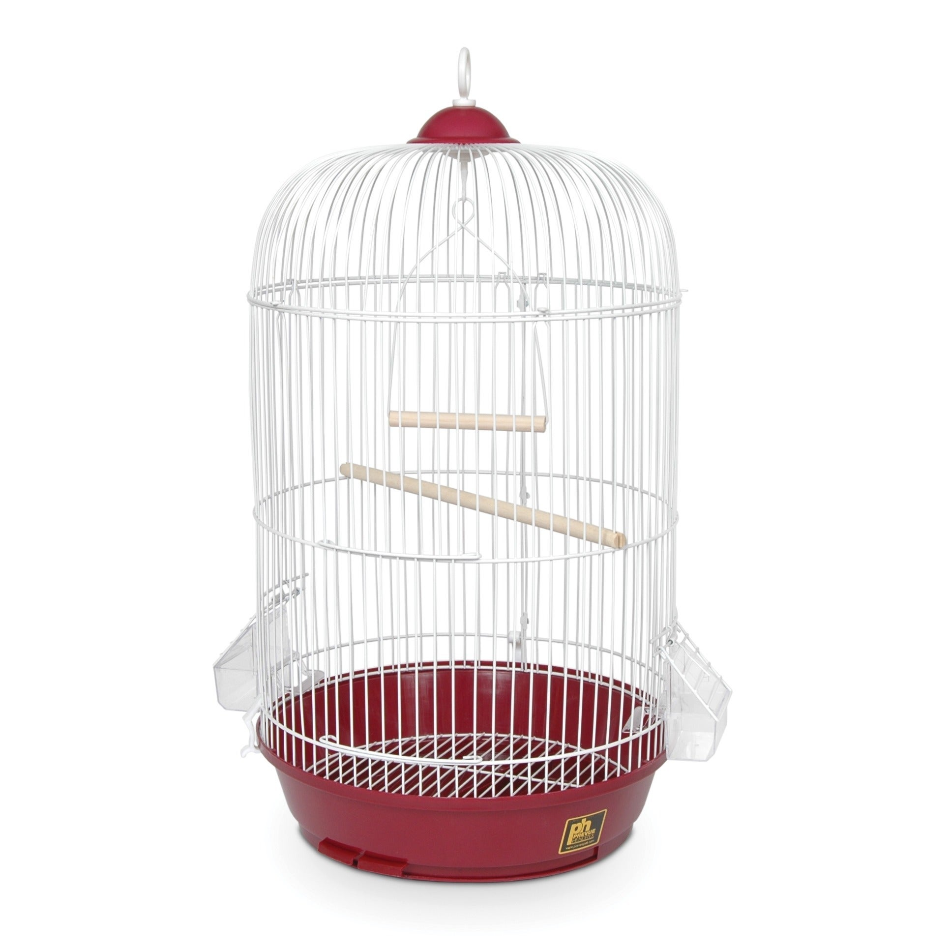 Prevue Pet Products Classic Red Round Bird Cage (Red)