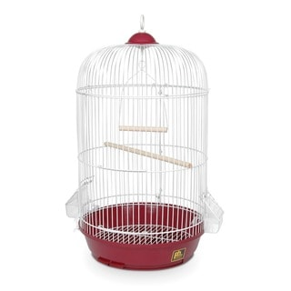 Prevue Pet Products Classic Red Round Bird Cage
