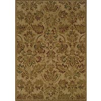 Ellington Beige/Green Transitional Area Rug - 3'10 x 5'5