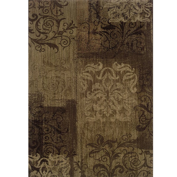 Ellington Brown/Beige Transitional Area Rug - 3'10 x 5'5
