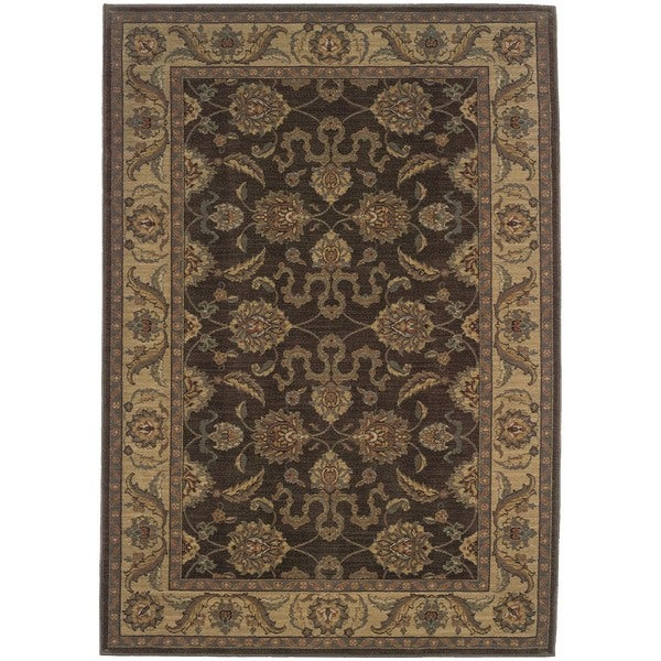 Ellington Brown/Beige Traditional Area Rug
