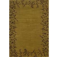 Ellington Gold/Brown Transitional Area Rug - 7'8 x 10'10