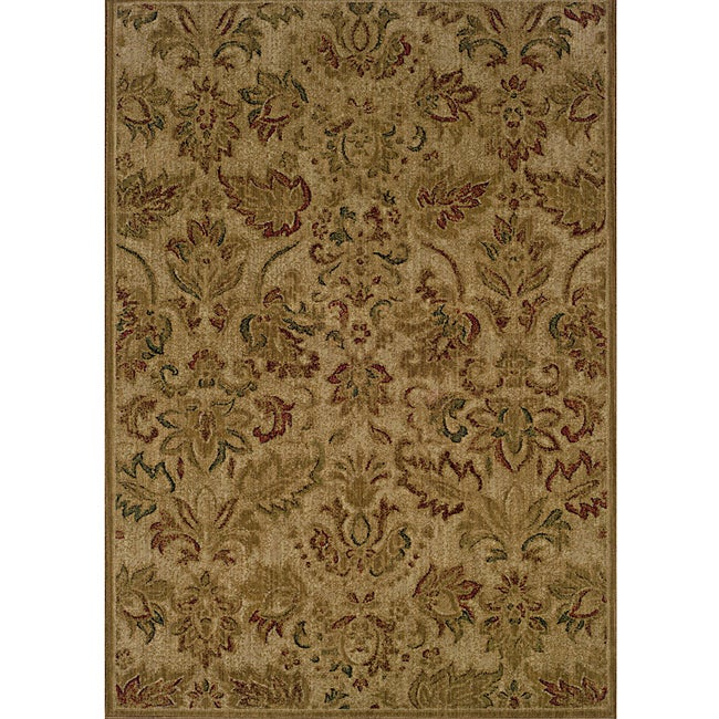 Ellington Beige/Green Transitional Rug - 7'8 x 10'10