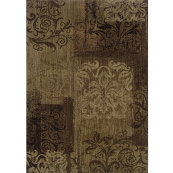 Ellington Brown/Beige Transitional Area Rug (7'8 x 10'10)