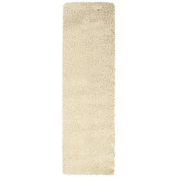 Manhattan Ivory Area Rug (2'3 x 7'9)