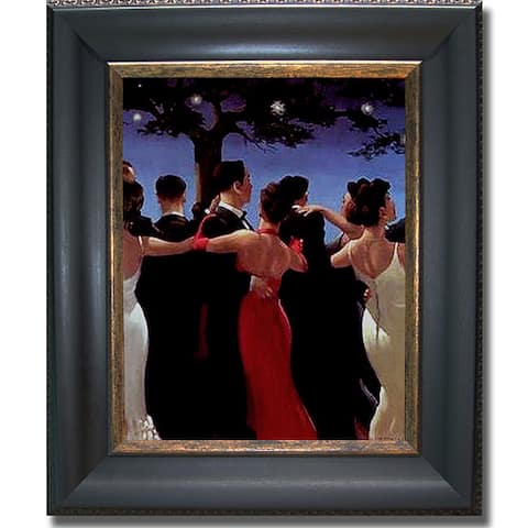 Jack Vettriano 'The Waltzers' Framed Canvas Art