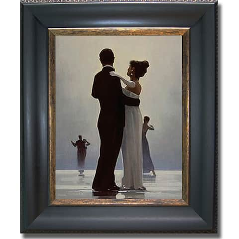 Jack Vettriano 'Dance Me to the End of Love' Framed Canvas Art
