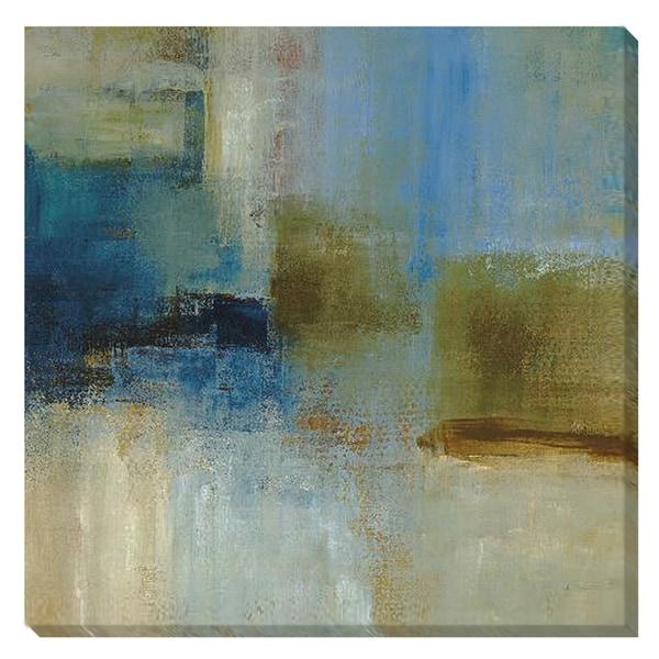 Simon Addyman 'Blue Abstract' Canvas Art
